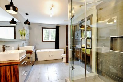 Salle de bain du 7 chemin blanc Stoneham