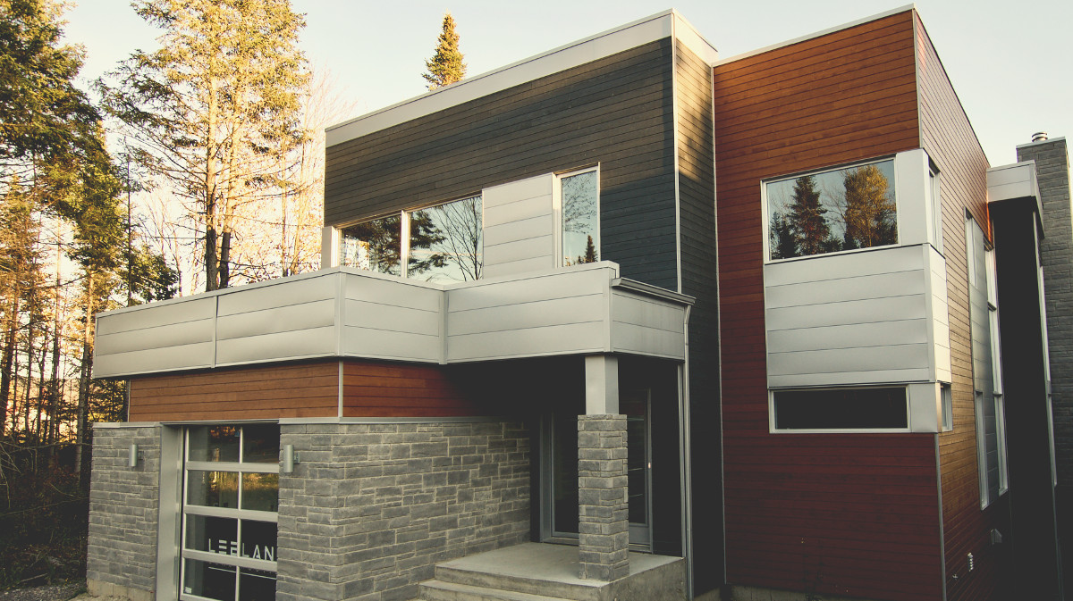 Maison modèle Lac-Beauport, Leblanc Construction