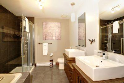 Salle de bain, 7 chemin Blanc, Stoneham - Leblanc Construction