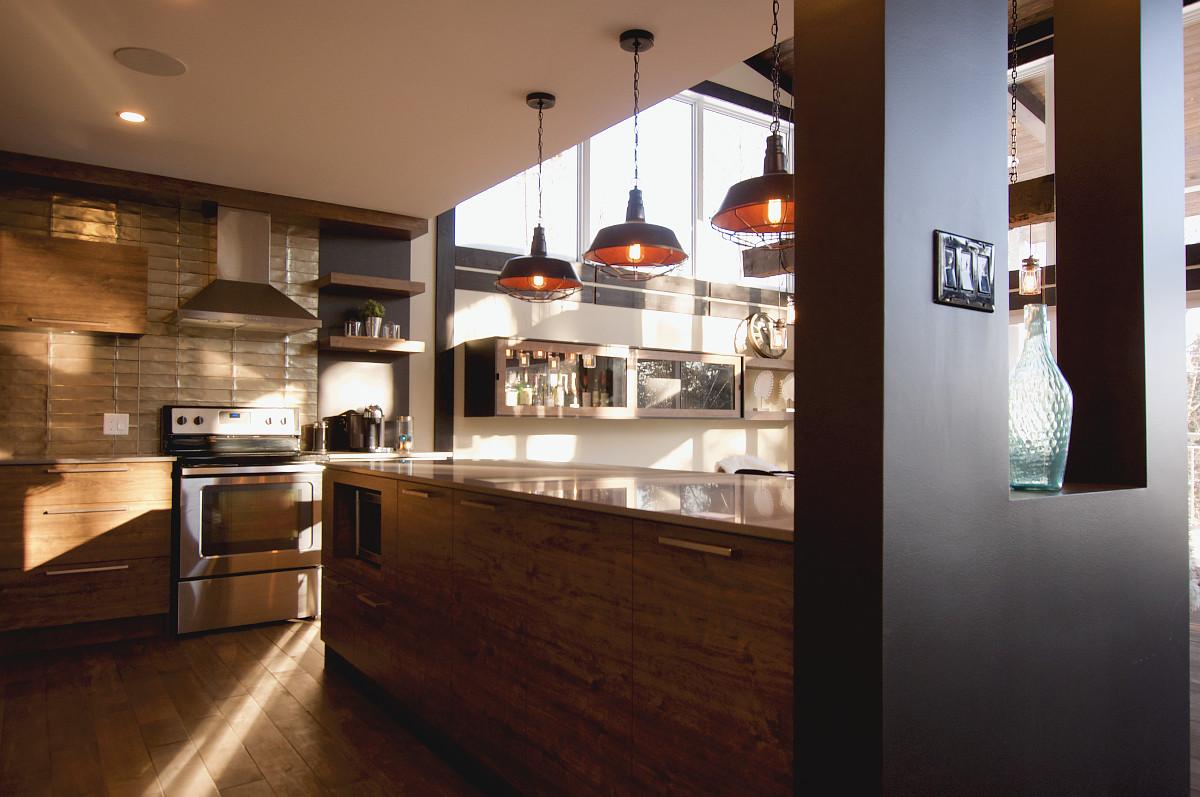 Maison modèle Lac-Beauport - cuisine