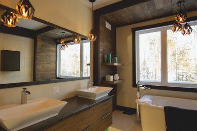 maison modèle Salle de bain